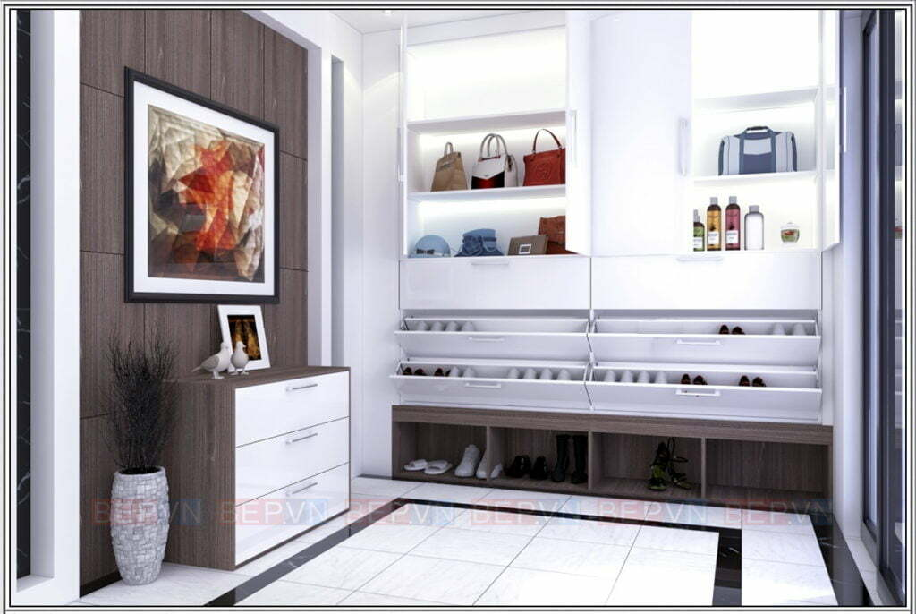 Trang trí, lưu trữ giày, túi, phụ kiện thời gian