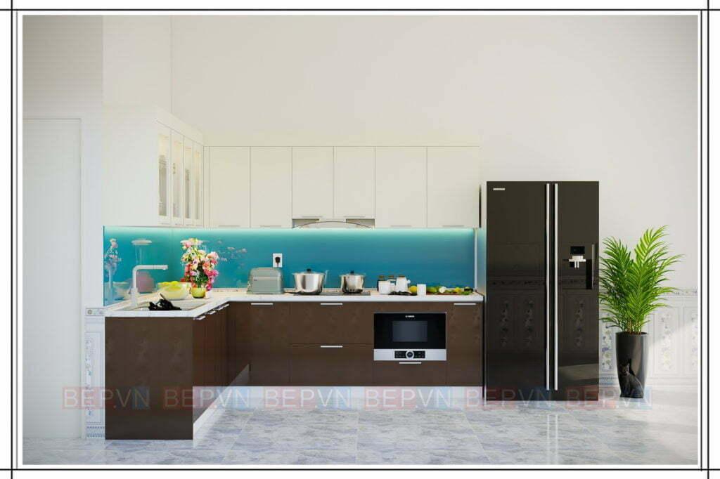 Điểm nhấn cho tủ bếp đẹp, hiện đại đến từ backplash