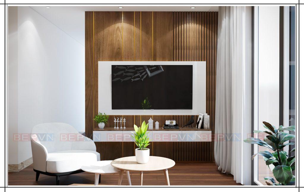 Tủ kệ tivi đơn giản, hiện đại phù hợp cho các gia đình trẻ