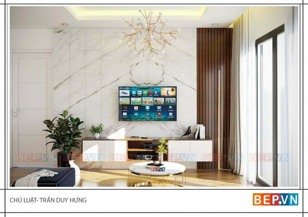 Tủ kệ tivi có thêm không gian lưu trữ cho phòng khách