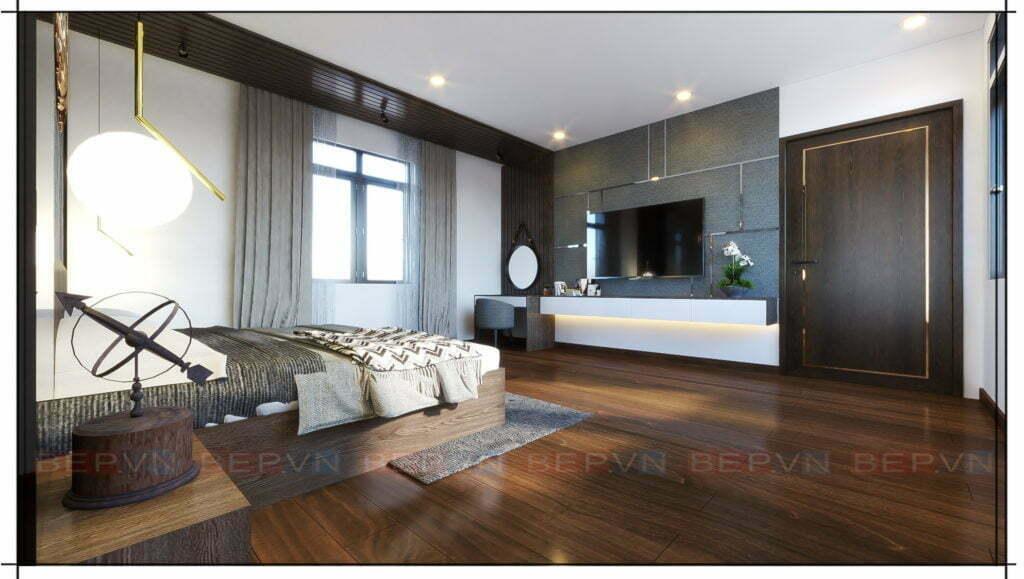 Xu hướng thiết kế nội thất theo phong cách hiện đại Châu Âu