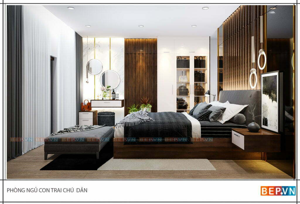 tư vấn thiết kế nội thất chung cư phòng ngủ