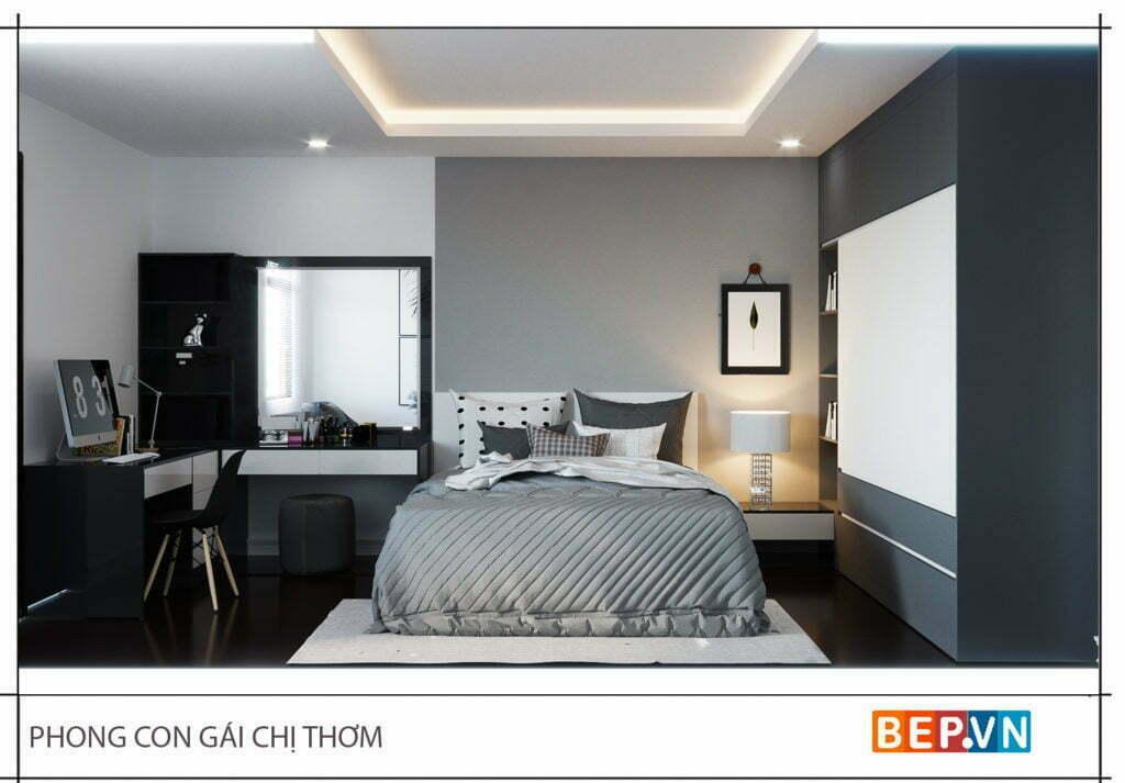 lựa chọn màu sắc cho thiết kế nội thất phòng ngủ