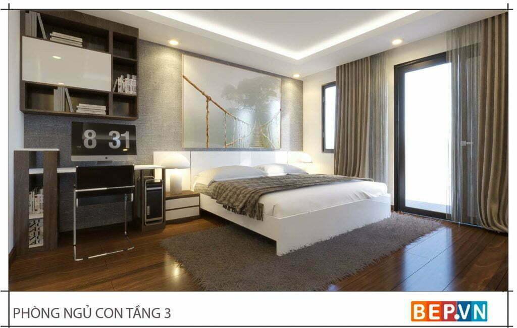 Mẫu thiết kế phòng ngủ đẹp, sang trọng và hiện đại 2