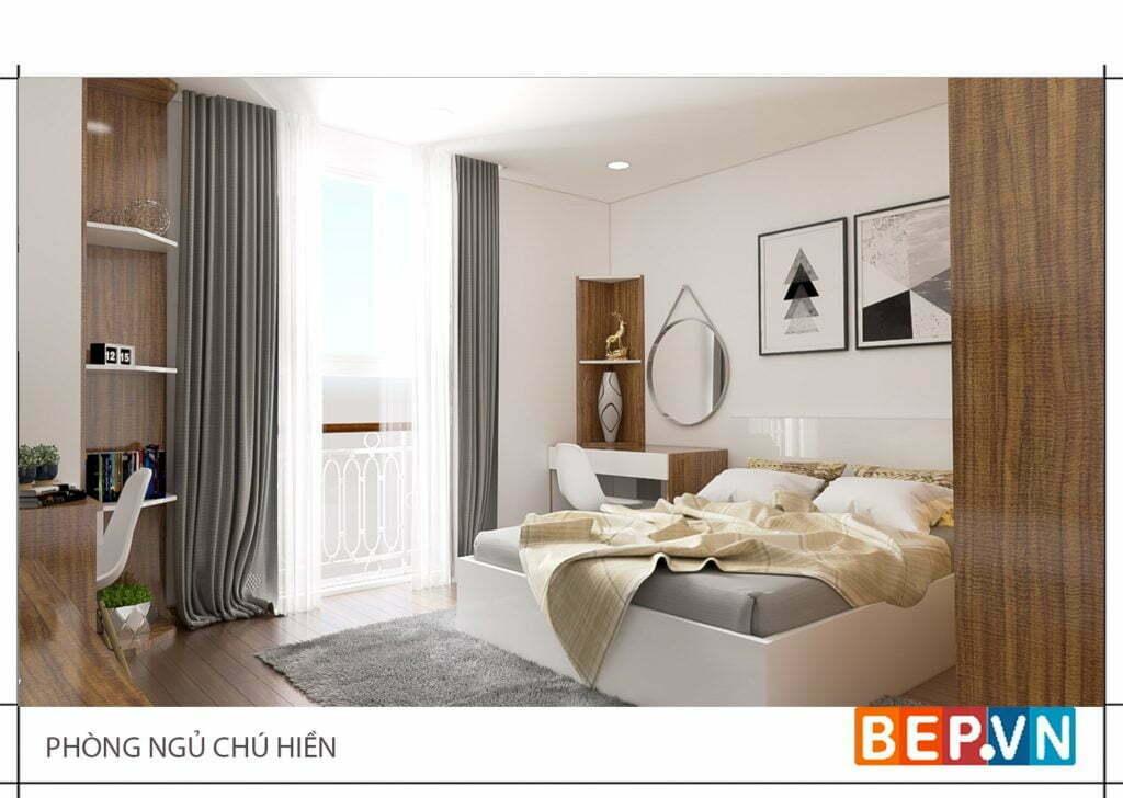 Lợi ích của phòng ngủ được thiết kế phù hợp