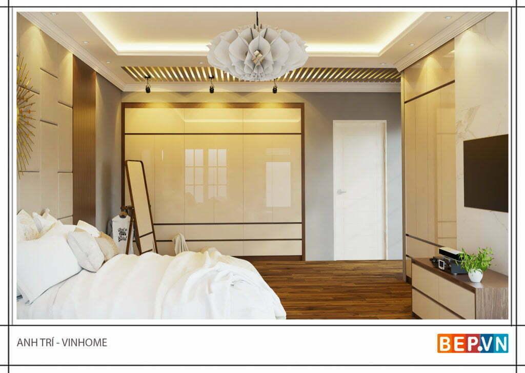 Cách bố trí nội thất trong phòng ngủ