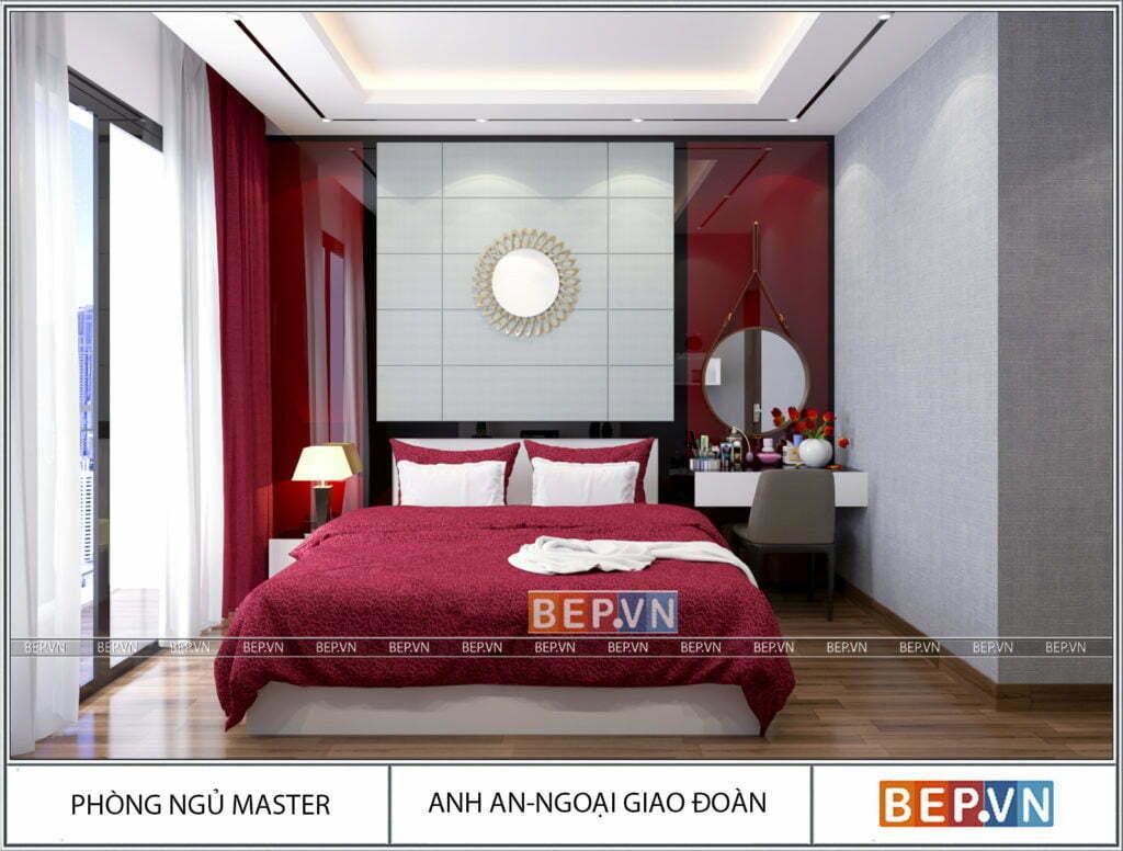 Lựa chọn màu sắc phù hợp cho phòng ngủ rộng