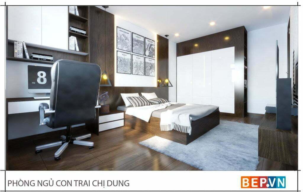 Thiết kế phòng ngủ master 1