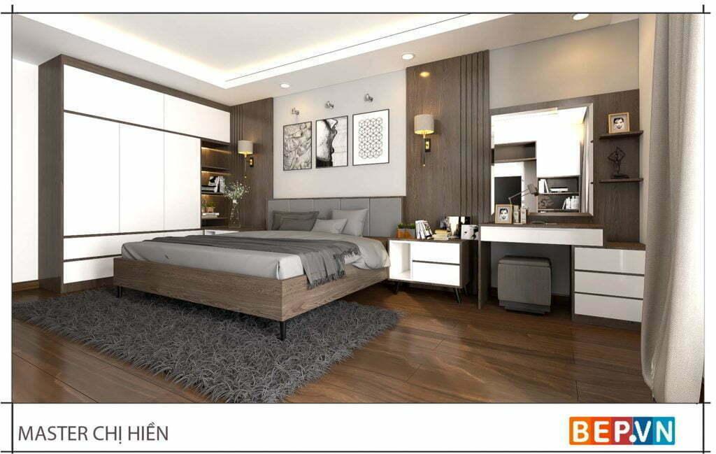 Mẫu thiết kế phòng ngủ đẹp, sang trọng và hiện đại 1
