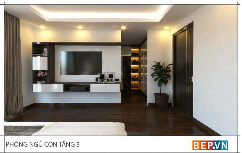 Mẫu thiết kế phòng ngủ đẹp, sang trọng và hiện đại 3