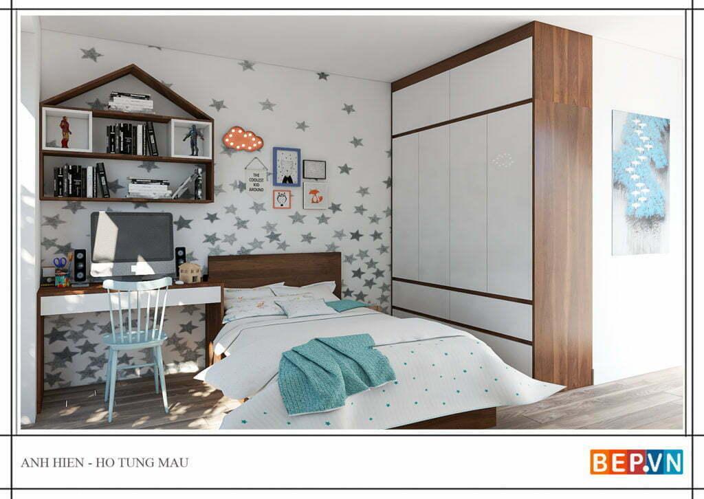 Trang trí phòng ngủ cho con