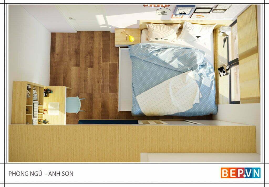 Mẫu thiết kế phòng ngủ hiện đại, độc đáo và sáng tạo cho con 2