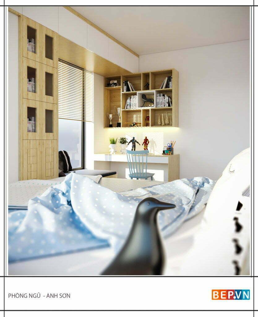 Mẫu thiết kế phòng ngủ hiện đại, độc đáo và sáng tạo cho con 3