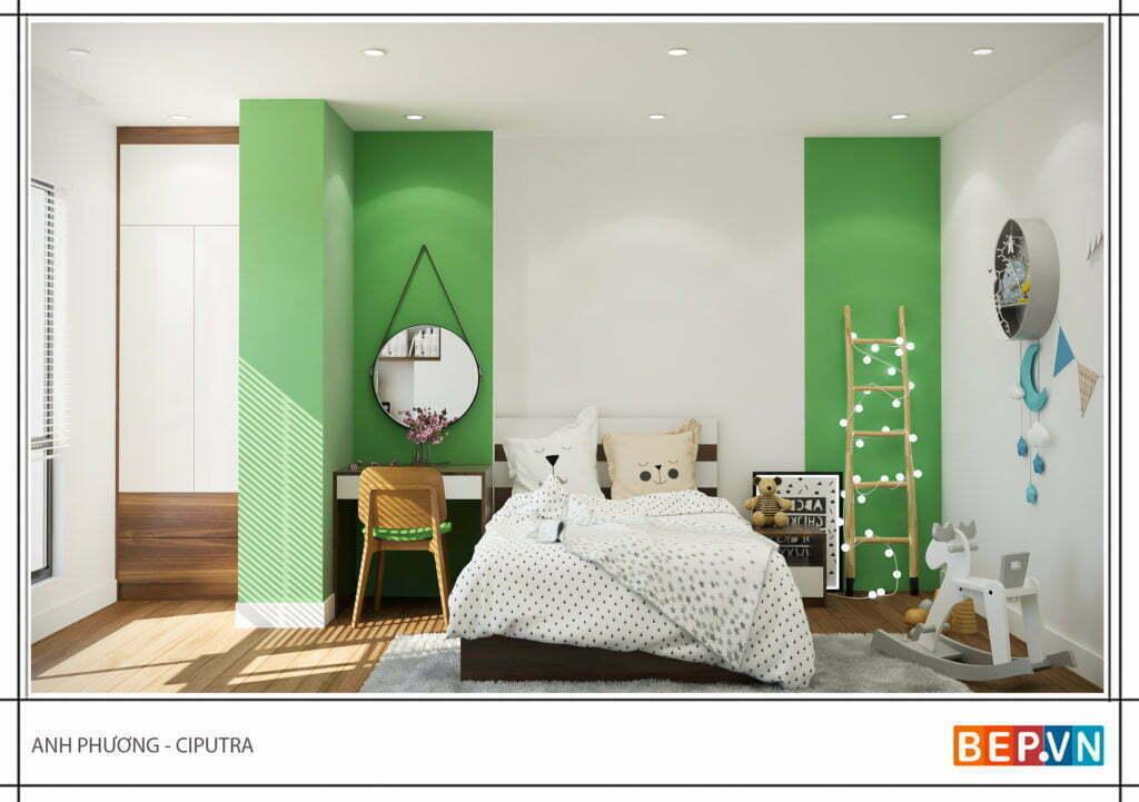 Mẫu thiết kế phòng ngủ hiện đại, độc đáo và sáng tạo cho con 4