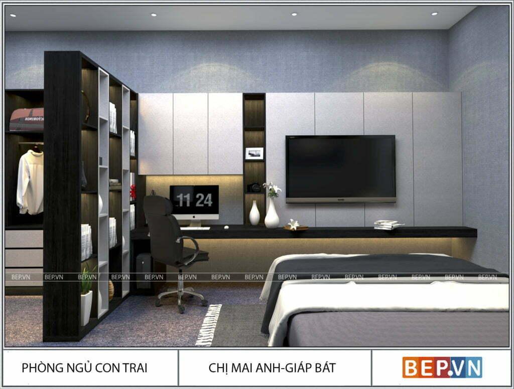 Mẫu thiết kế phòng ngủ hiện đại, độc đáo và sáng tạo cho con 7
