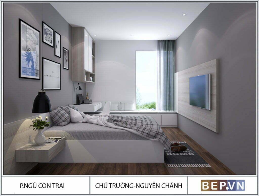 Mẫu thiết kế phòng ngủ hiện đại, độc đáo và sáng tạo cho con 8