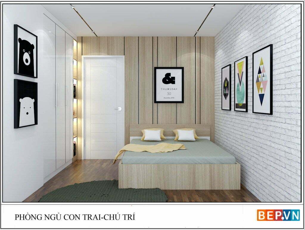 Mẫu thiết kế phòng ngủ hiện đại, độc đáo và sáng tạo cho con 16