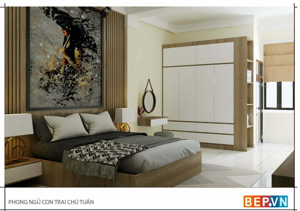 Mẫu thiết kế phòng ngủ hiện đại, độc đáo và sáng tạo cho con 13