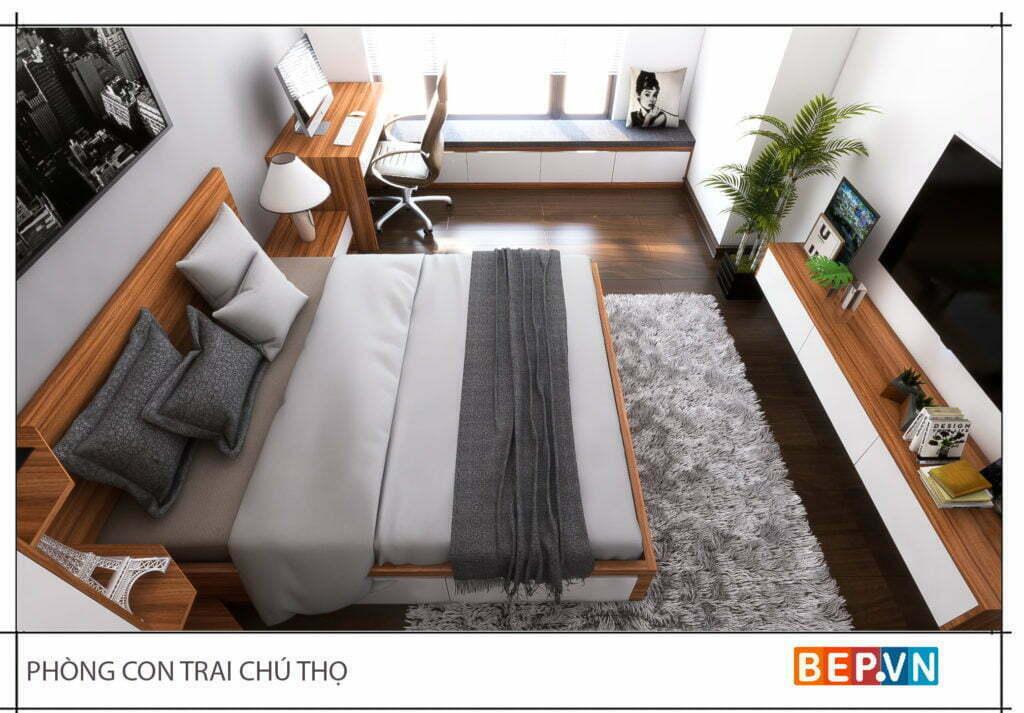 Mẫu thiết kế phòng ngủ hiện đại, độc đáo và sáng tạo cho con 14