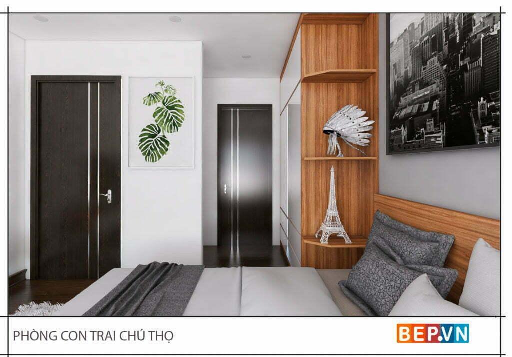 Mẫu thiết kế phòng ngủ hiện đại, độc đáo và sáng tạo cho con 15