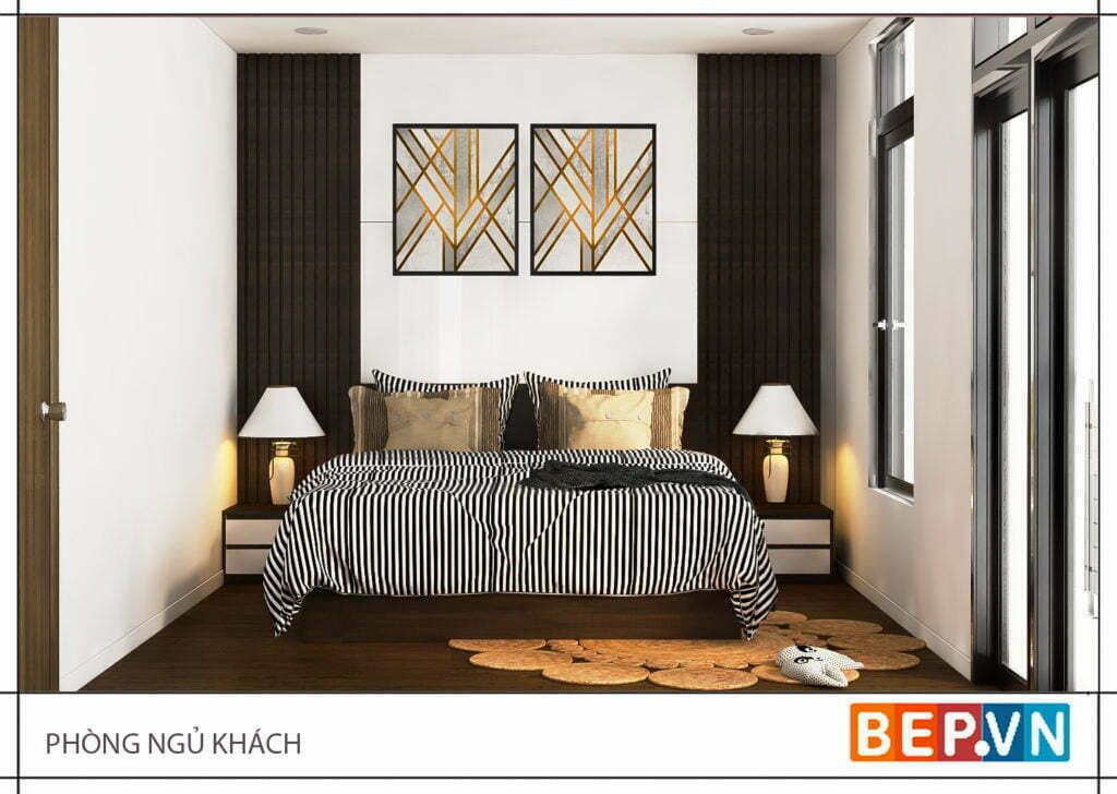 Thiết kế phòng ngủ khách