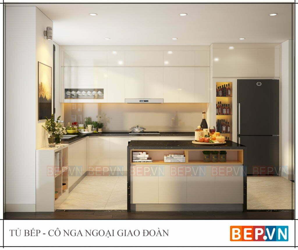 top 5 mẫu thiết kế tủ bếp hiện đại cho nhà chung cư