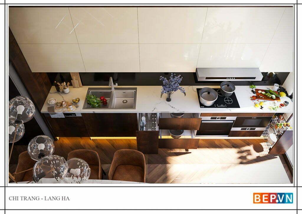 Phụ kiện tủ bếp hiện đại, thông minh