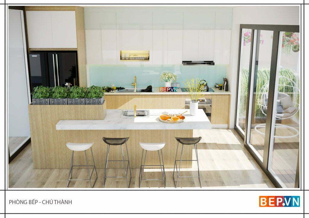 Mẫu tủ bếp đẹp phù hợp cho mọi không gian phòng bếp