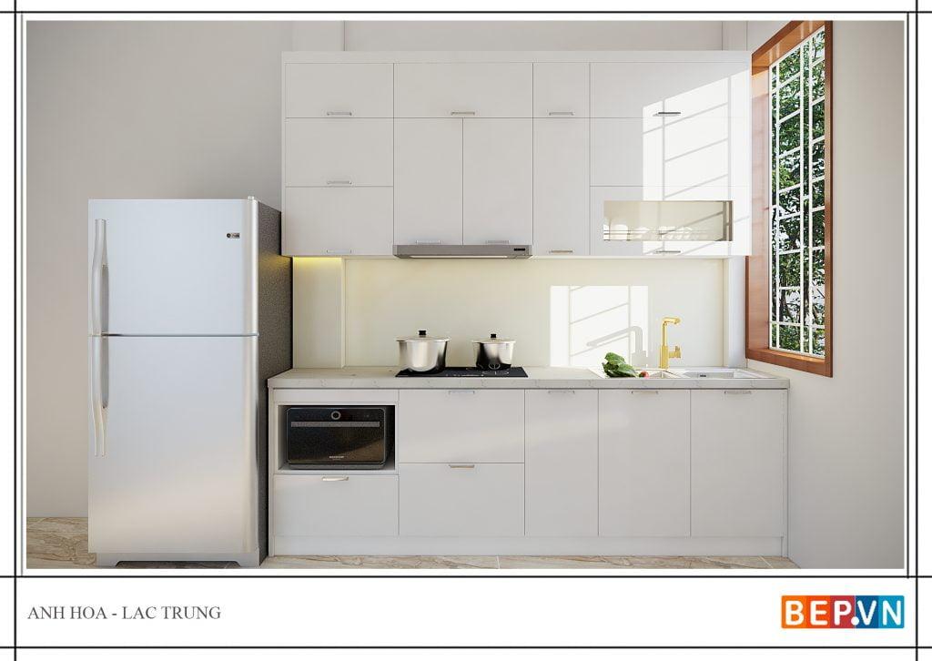 thiết kế tủ bếp hiện đại, độc đáo