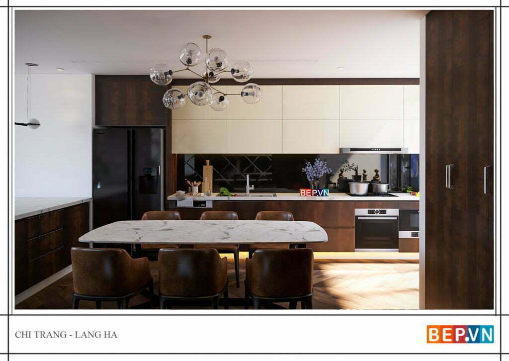 Xu hướng thiết kế tủ bếp đẹp theo phong cách hiện đại