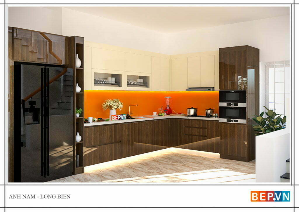 Lựa chọn và kết hợp màu sắc cho phòng bếp gia đình