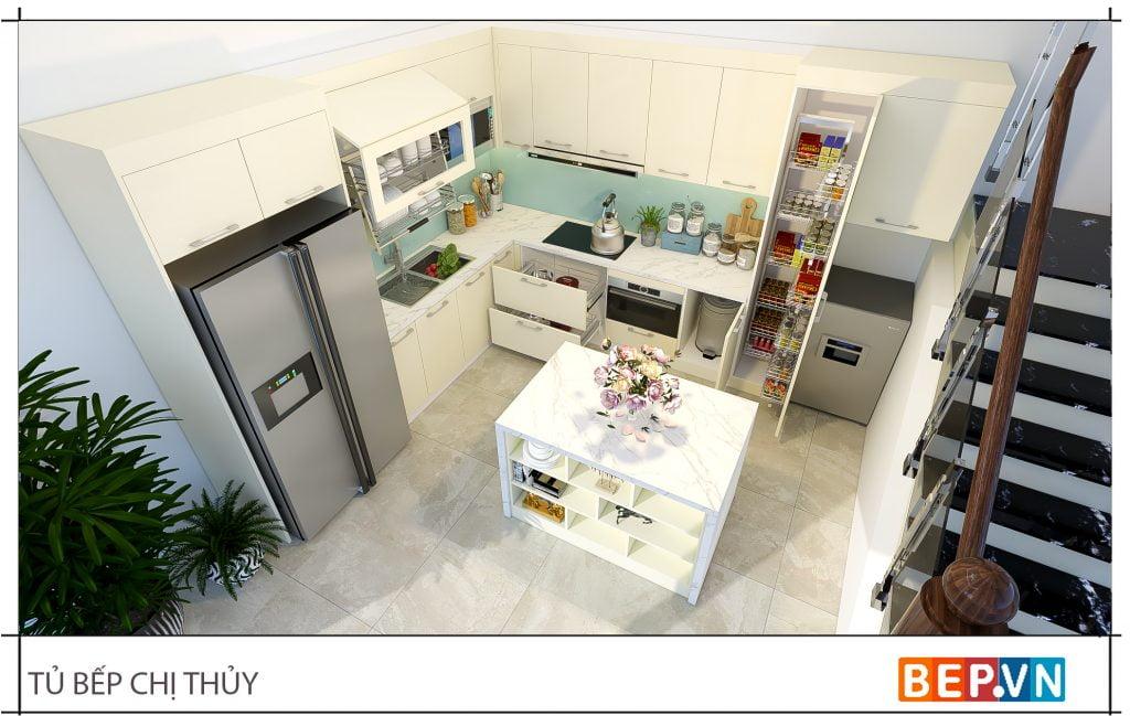 Lựa chọn phụ kiện, thiết bị bếp thông minh, hiện đại cho phòng bếp