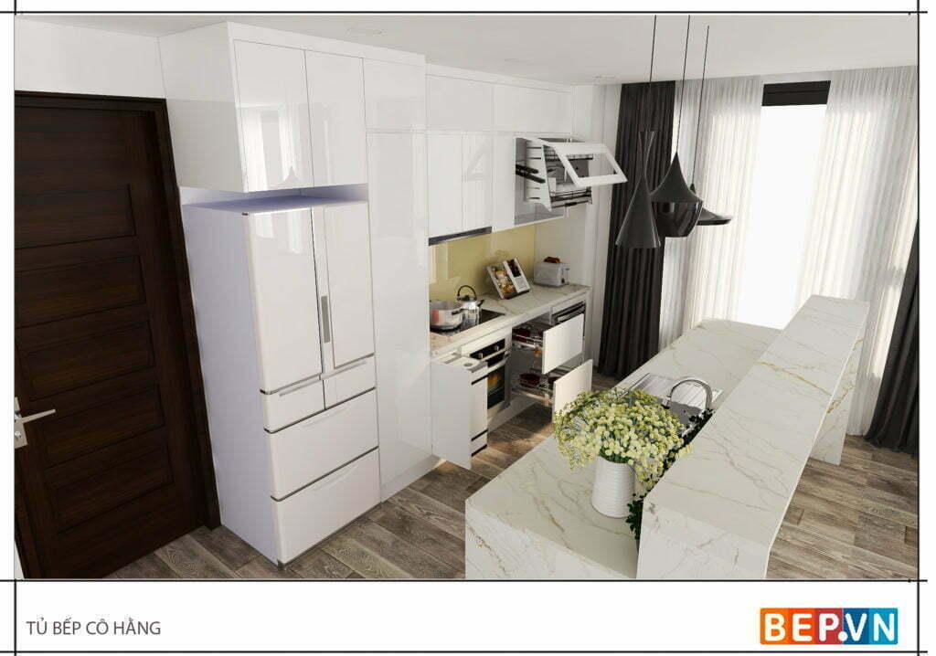 Lựa chọn màu trắng tinh tế thanh lịch với kiểu dáng thiết kế phù hợp cho mọi không gian